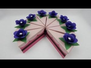 bolo-de-papel-com-tampa-ondulada-03 Fatias decorativas de bolo falso com tampa ondulada - Bolo Fake de papel