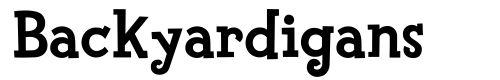 tipografia-Font-Backyardigans Font dos Backyardigans
