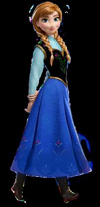 Anna-Frosen-sem-fundo-03 Personagens Frozen