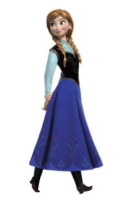 Anna-Frosen-sem-fundo-04 Personagens Frozen