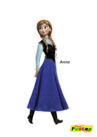 Anna-Frozen Personagens Frozen