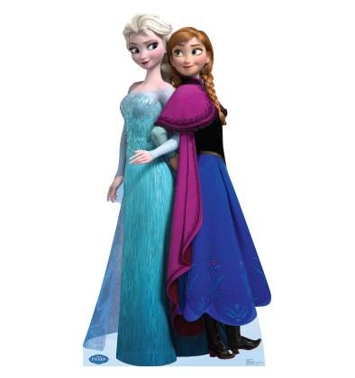 Elsa-Anna-Frosen-sem-fundo Personagens Frozen