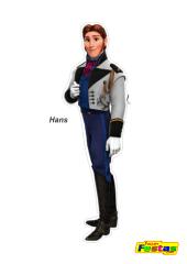Hans-Frozen Personagens Frozen