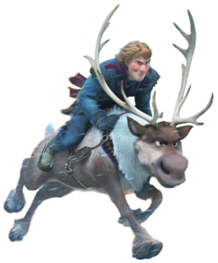 Kristoff-Sven-Frosen-sem-fundo-02 Personagens Frozen