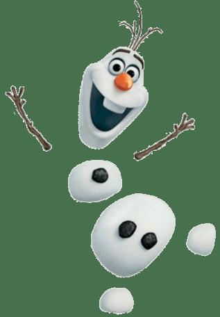 Olaf-Frosen-sem-fundo-01 Personagens Frozen