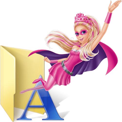 font-barbie