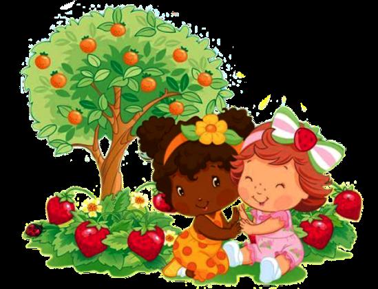moranguinho-baby-strawberry-shortcake-e-laranjinha Imagens da Moranguinho Baby