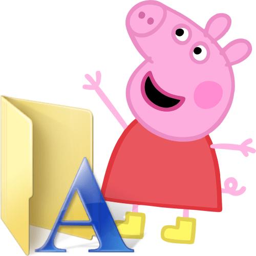 Font-Peppa-Pig