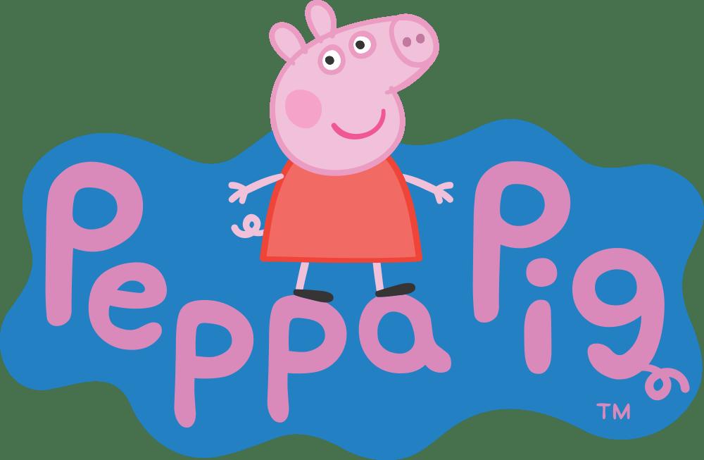 Peppa-Pig-Logo-Fundo-Fundo-Claro-01 Logo - Peppa Pig