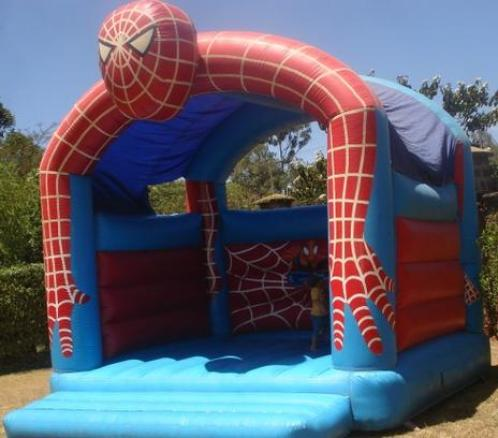 Pula-pula-do-Homem-Aranha Homem Aranha Festa infantil