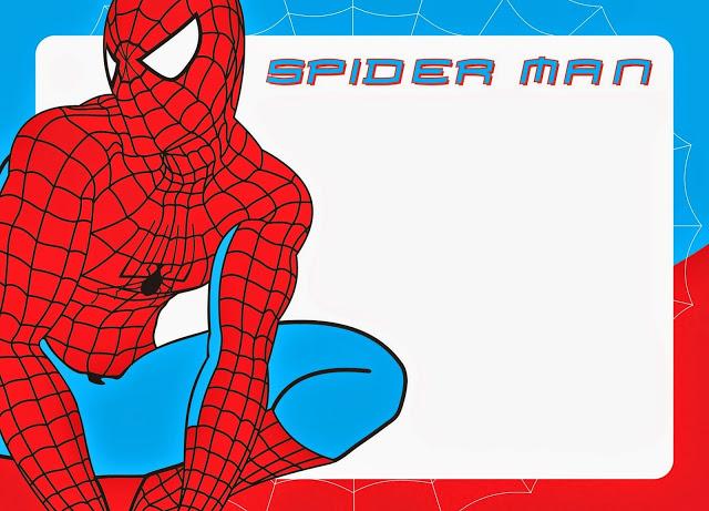 spiderman-free-printable-kit-012 Homem Aranha Festa infantil