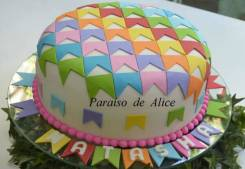 Bolo-festa-infantil-fazendin Idéias para festa Infantil com tema Fazendinha para meninos e meninas