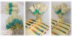 Lembrancinha-aniversário-fazendinha-estojo-flor Idéias para festa Infantil com tema Fazendinha para meninos e meninas