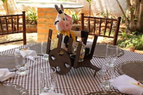 aniverssário-infantil-decoração-tema-festa-fazendinha-07 Idéias para festa Infantil com tema Fazendinha para meninos e meninas