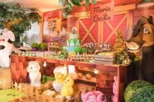 aniverssário-infantil-decoração-tema-festa-fazendinha-14 Idéias para festa Infantil com tema Fazendinha para meninos e meninas