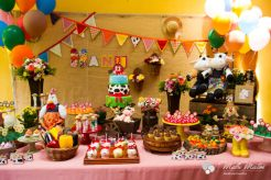 aniverssário-infantil-decoração-tema-festa-fazendinha-26 Idéias para festa Infantil com tema Fazendinha para meninos e meninas