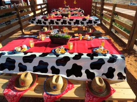 aniverssário-infantil-decoração-tema-festa-fazendinha-27 Idéias para festa Infantil com tema Fazendinha para meninos e meninas