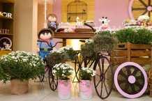 aniverssário-infantil-decoração-tema-festa-fazendinha-menina-06 Idéias para festa Infantil com tema Fazendinha para meninos e meninas