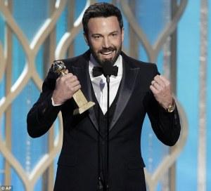 """""""Argo"""" é o grande vencedor do Globo de Ouro"""