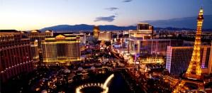Fim de semana é em Las Vegas