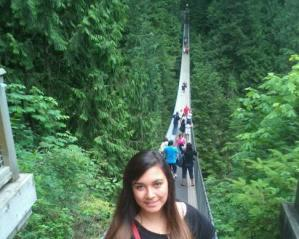 #experiência: Giullia Lucato, Vancouver, CA