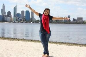 #experiência: Marina Xavier Batista Bérzi, Perth, AU