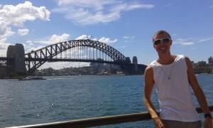 #experiência: Felipe Giroto, Sydney, AU