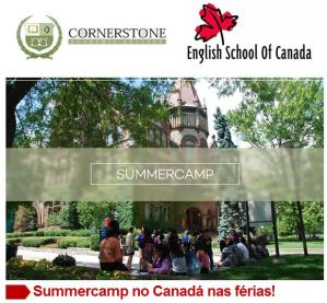 Summer Camp no Canada nas Ferias