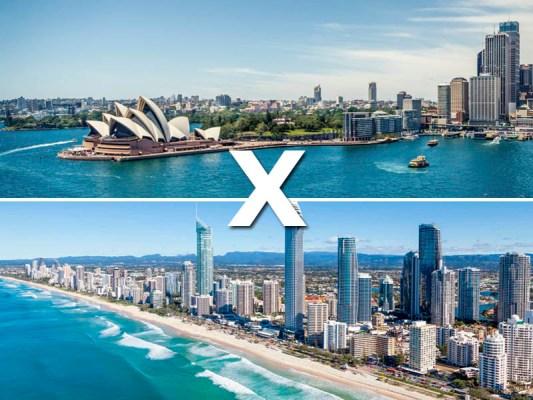 Austrália: Sydney x Gold Coast