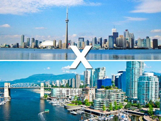 Canadá: Toronto x Vancouver
