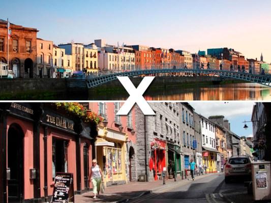 Irlanda: Dublin x Galway