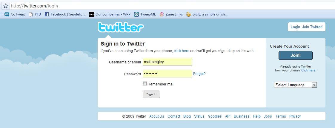 Twitter Login - Entrar no Twitter 2021