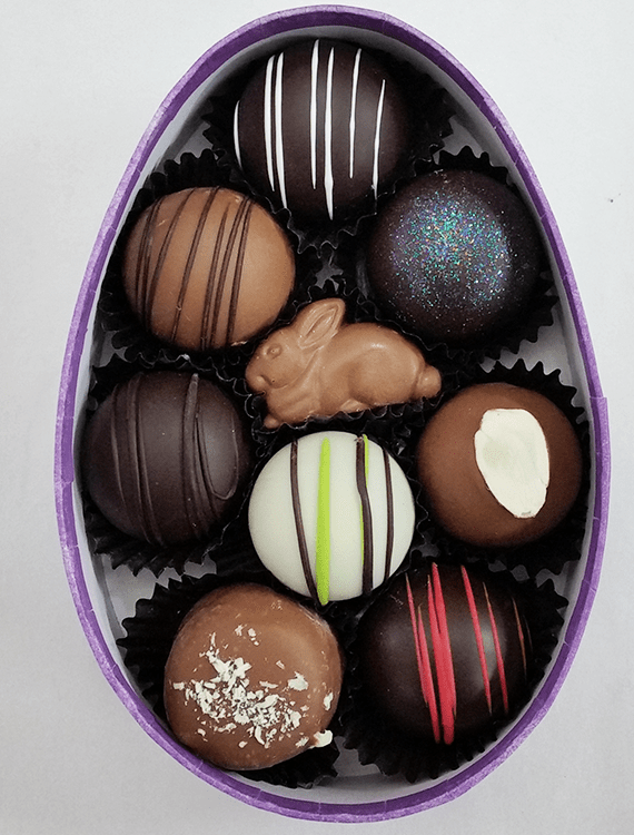 Bunny Trail chocolate truffle Easter assortment