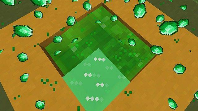 Hvordan i Minecraft finder smaragder