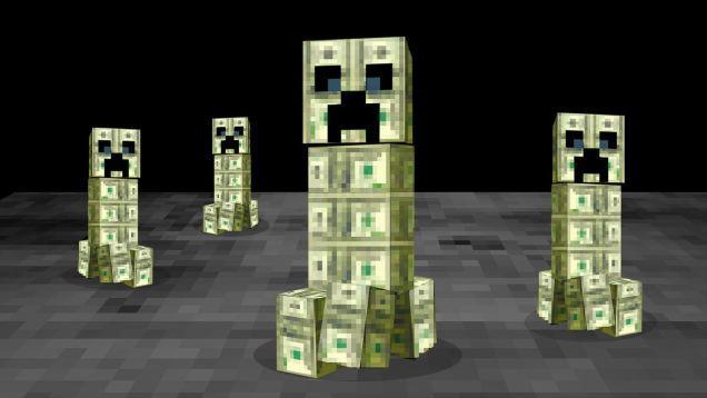 چگونه پول را در Minecraft بدهیم