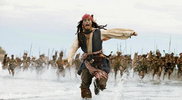 как снимали пираты карибского моря