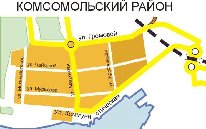 тольятти карта города
