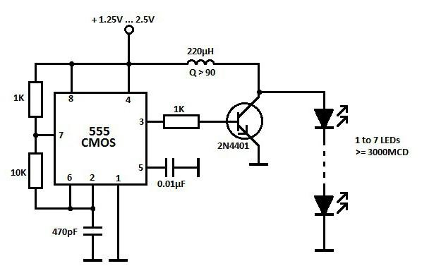 Схема включения светодиода в сеть 220 вольт