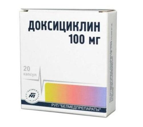 Доксициклин по простатите лечения простатита струей бобра