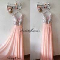 Popular Coral Pink Bridesmaid Dresses, Chiffon Bridesmaid ...