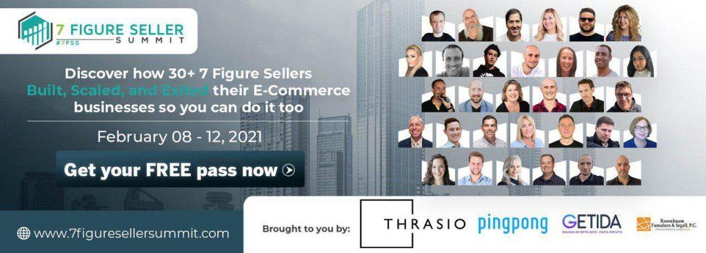 7 Figure Seller Summit, Starts Monday!