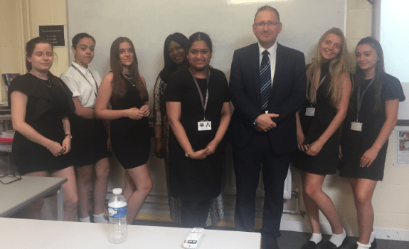 A'Level Business Students examine the strategic position of FBA – With Life Trust's CEO – Julian Dutnall