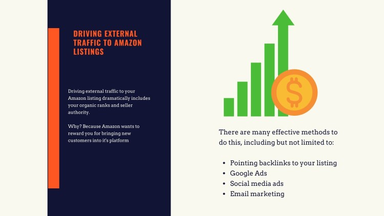 driving external traffic to an amazon listing
