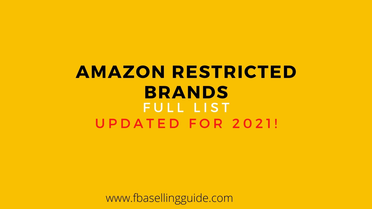 amazon gated and restricted brands