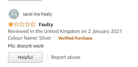avoid negative amazon reviews