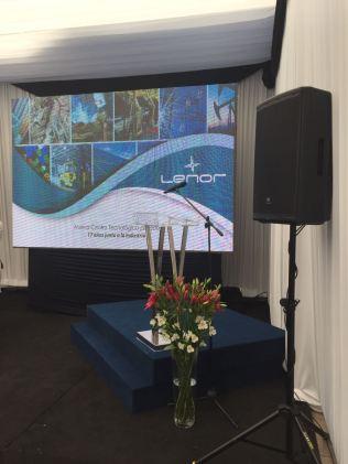 Inauguración nuevas instalaciones LENOR