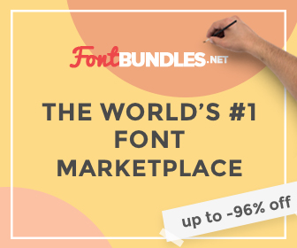 Fontbundles: the world's number 1 font marketplace.