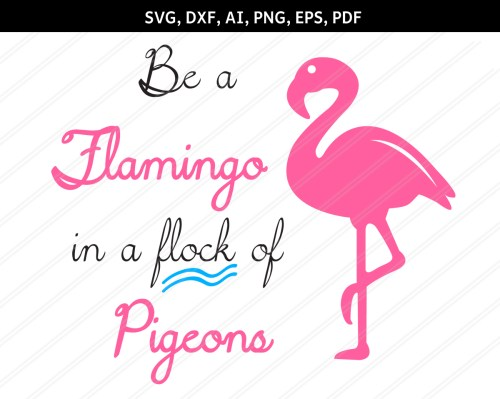 small resolution of flamingo svg flamingo clipart zoo svg animal svg beach example image 1
