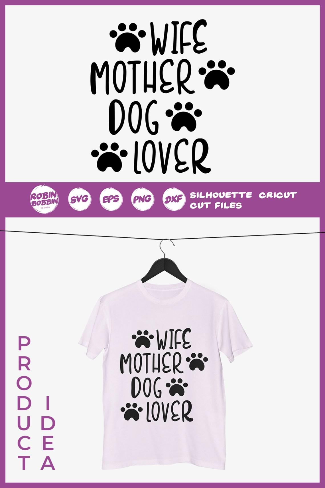 Download Wife Mother Dog Lover SVG - Dog Lover SVG