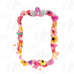 borders frames clip floral watercolor labels digital wedding sweet stamp collection cart